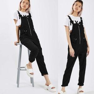 TopShop Motel Zipper Cleosa Jumpsuit
